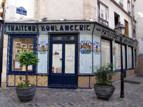 Boulangerie pâtissserie traiteur rue des Rosiers