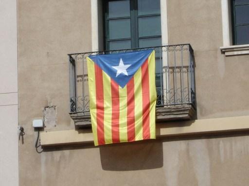Drapeau indépendantiste catalan ERC