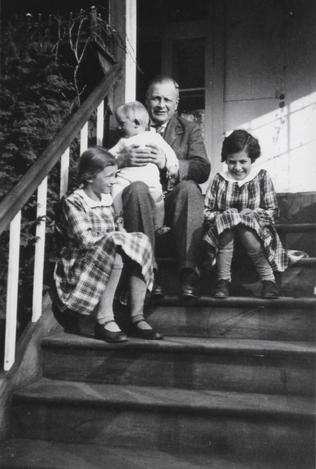 Alfred Cohn et ses filles