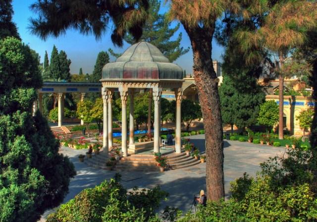 Tombeau de Hafez à Shiraz