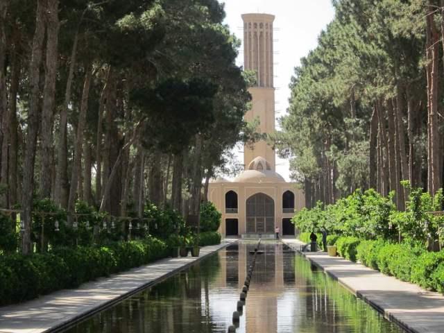 Palais Bagh-e Dolat Abad, à Yazd.