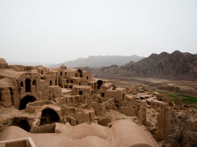 Yazd, ruines de Kharanaq