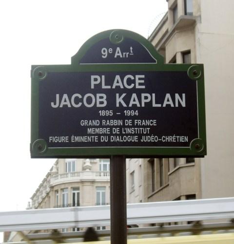 Place Jacob Kaplan, Paris 9°