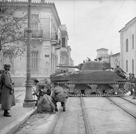 Athènes, décembre 1944