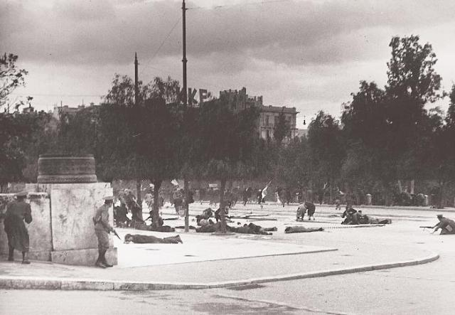 December events, SYNTAGMA