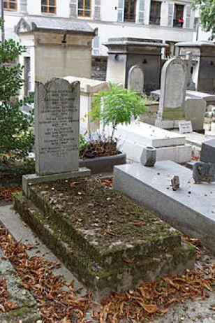 Père-Lachaise, Tombe de Moïse Schwab