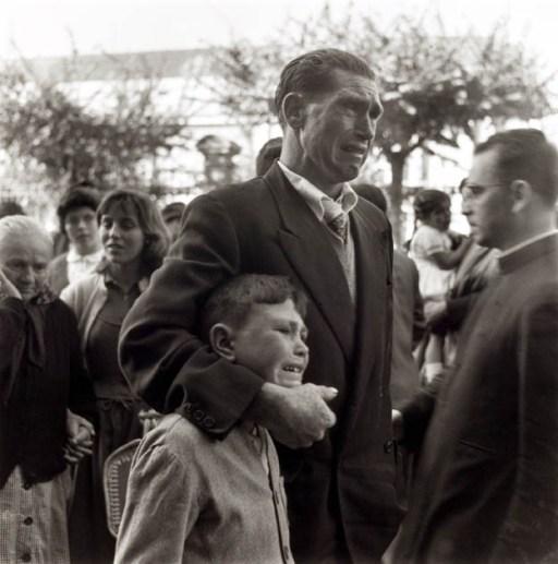 Emigrants espagnols en partance pour l'Argentine en 1957