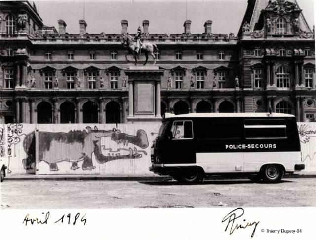 Palissade du Grand Louvre, Lutz