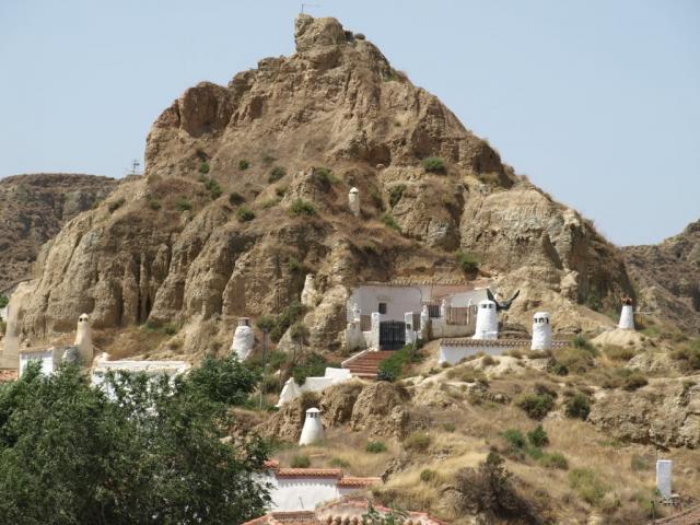 Casas cuevas, Guadix