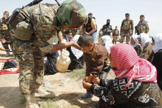 Kurdes Yezidis