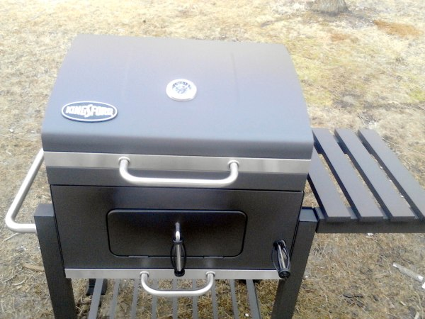 Thrilled Grill With Family Newest Addition