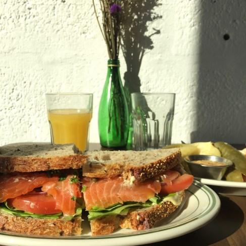 ZTB Deli - Gravlax Sandwich