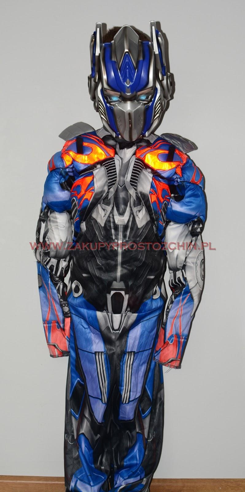 Kostium transformers Optimus Prime :D