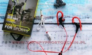 Sportowe słuchawki bluetooth Awei A890BL