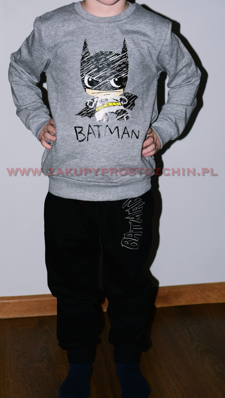 Bluza + spodnie Batman ze sklepu Pioneer Kids
