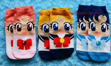 Skarpetki inspirowane Sailor Moon – Czarodziejka z księżyca