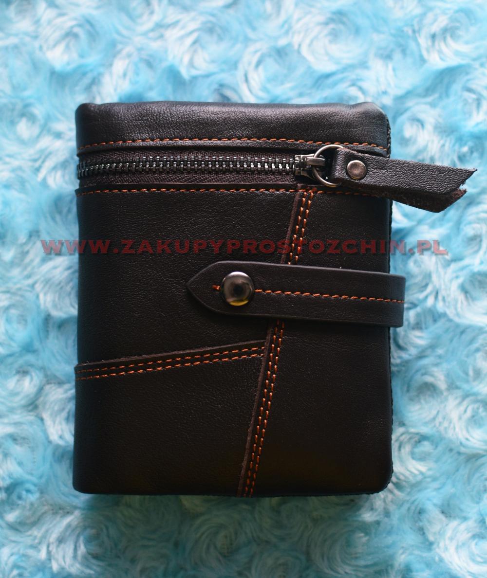 Męski portfel skórzany