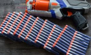 Strzałki naboje Nerf – zamienniki z AliExpress
