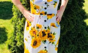 Letnia sukienka od Simplee Apparel z aliexpress