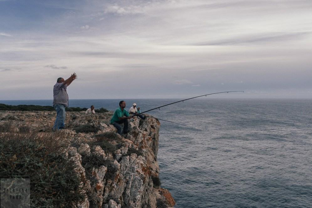 Połowy na Cabo de Sao Vicente