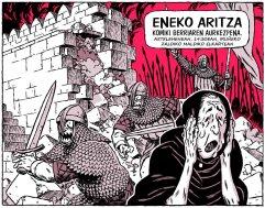 Eneko Aritza, komikiaren aurkezpena