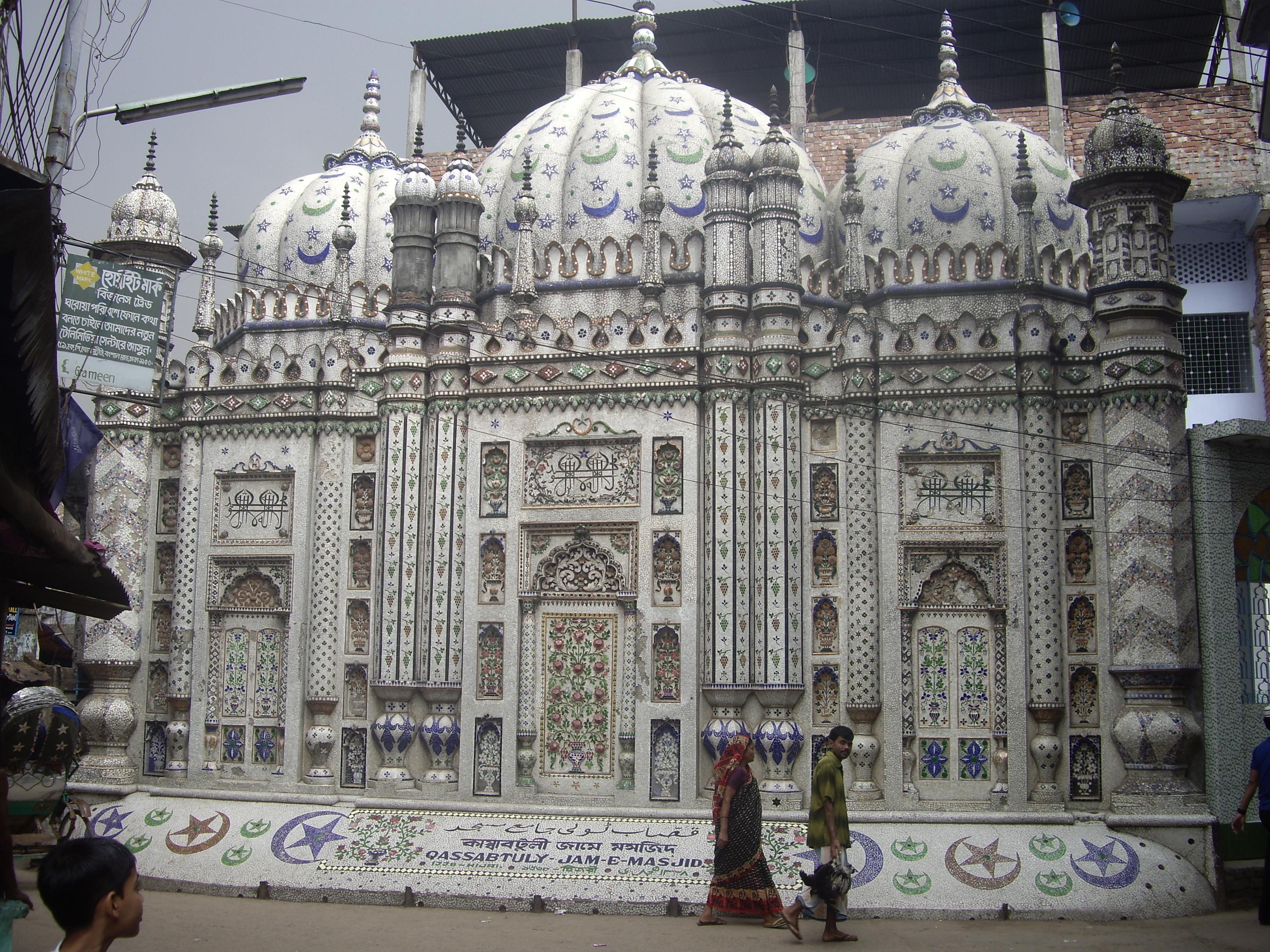 Και όμως, είναι αληθινό τζαμί, στην Ντάκα.
