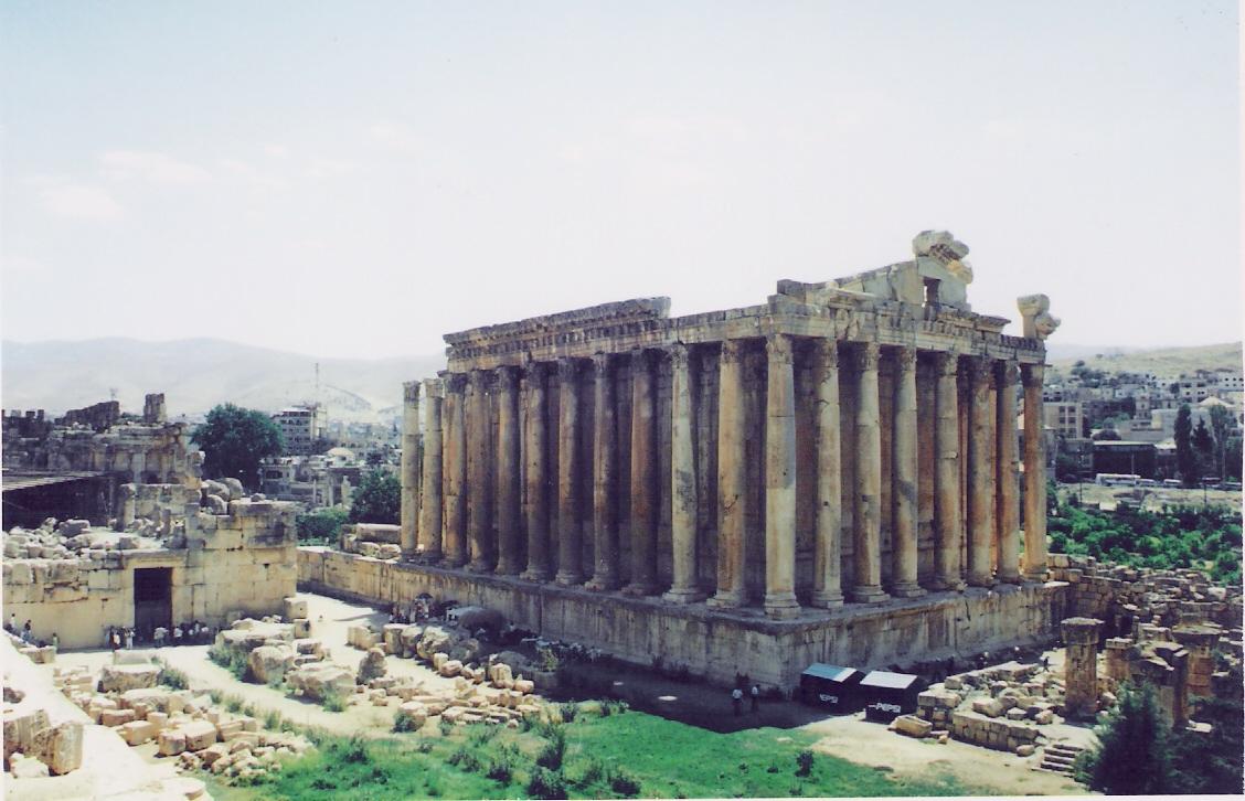 Μπάαλμπεκ. Ο ναός του Βάκχου με τους 42 κίονες