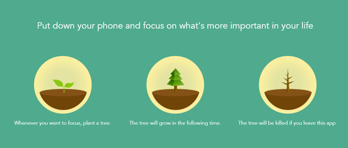 The Forest app is one of the most unique productivity apps available.