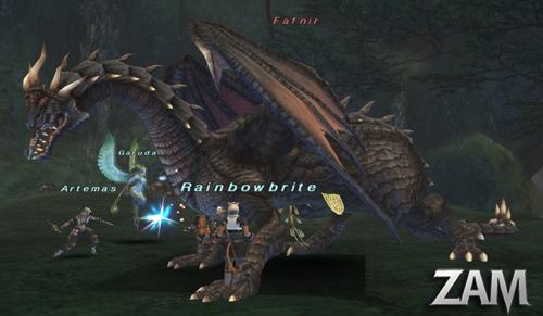 Fafnir Bestiary Final Fantasy XI ZAM