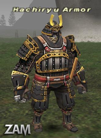 Hachiryu Armor Bestiary Final Fantasy XI ZAM