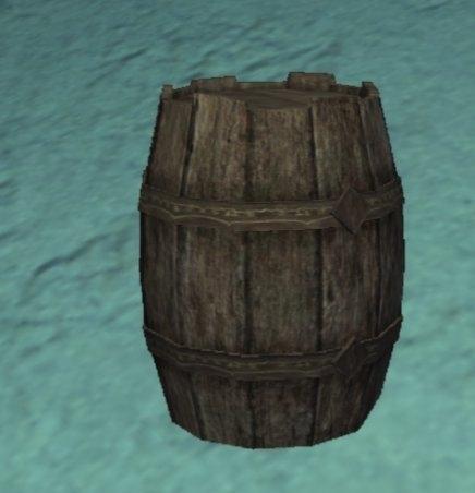 Barrel Under Water Objects EverQuest II ZAM