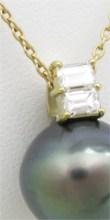 黒真珠のネックレスのリフォーム