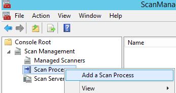 Add a Scan Process
