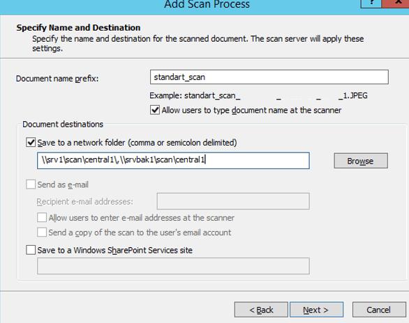 create scan process task - PSP