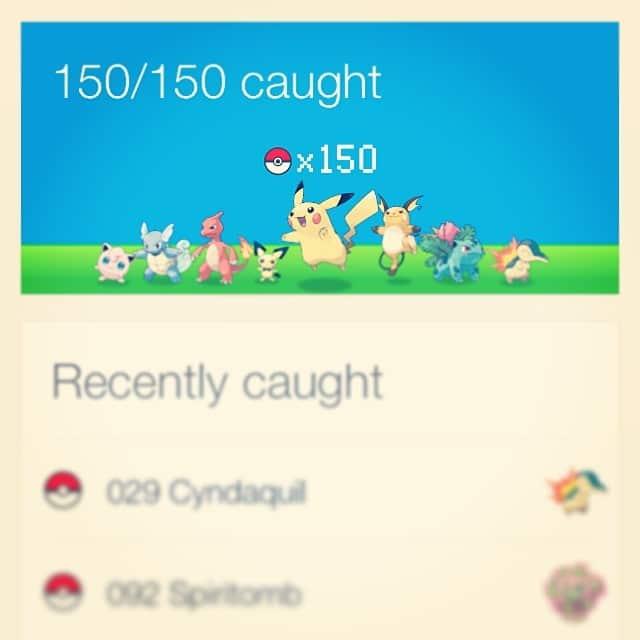 nintendo found all 150