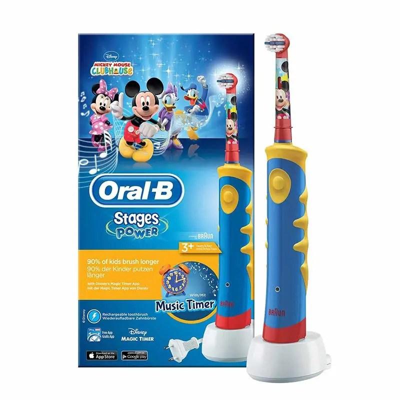 Periute electrice pentru copii de la Oral-B