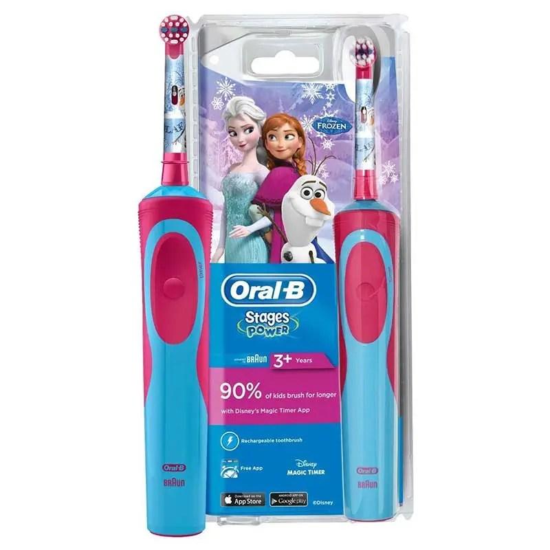 Periuta electrica copii Oral-B D12 Frozen Emag