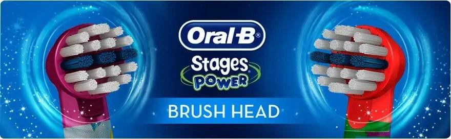 Rezerve periuta electrica copii oral b