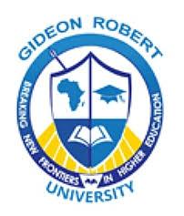 Gideon Robert University Online Application Form