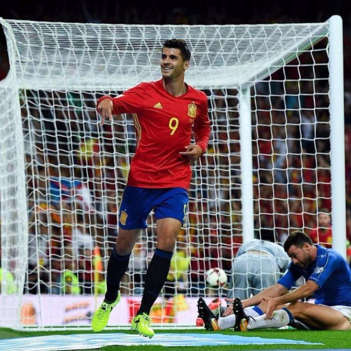 Alvaro Morata dropped from Spain's World cup squad