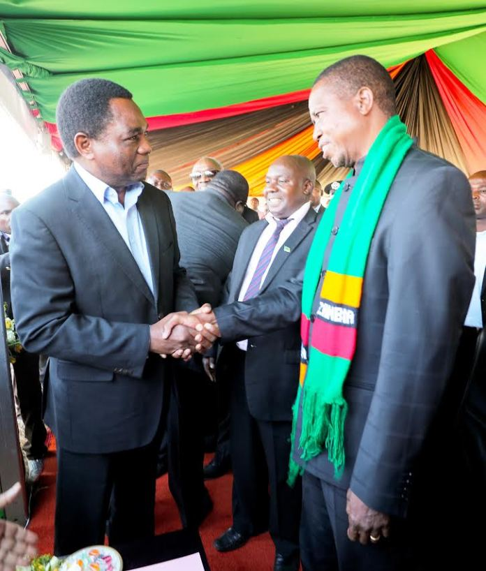 HH challenges President Lungu to a President debate