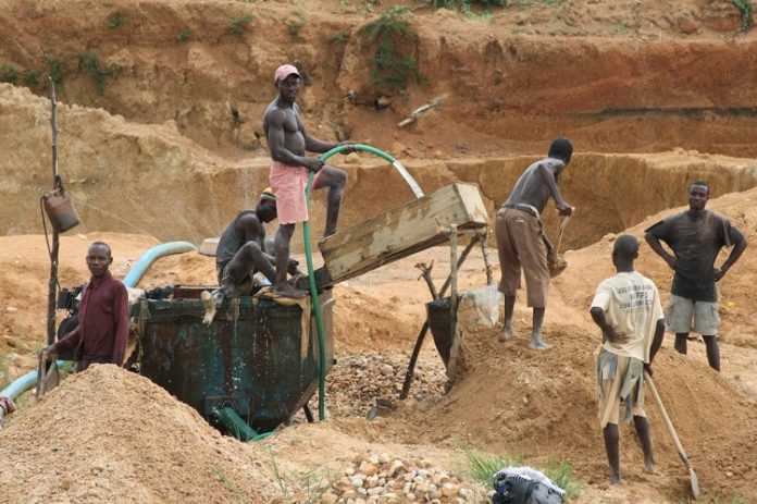 21 illegal gold miners arrested in Mwinilunga