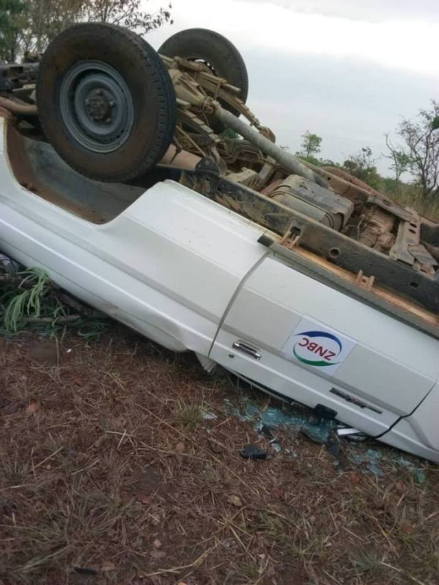 Accident along Great North Road