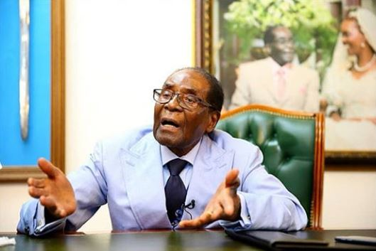 1 year after Mugabe