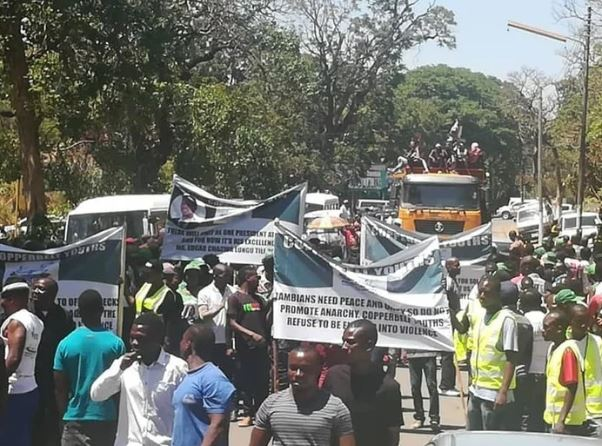 pf youth protest