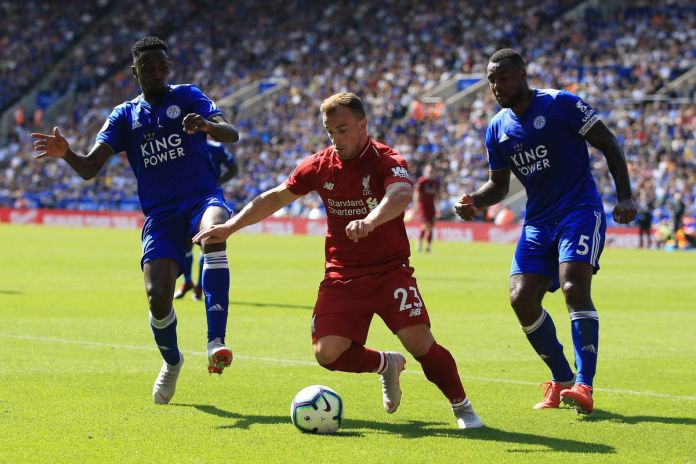 Liverpool vs Leicester City match build up