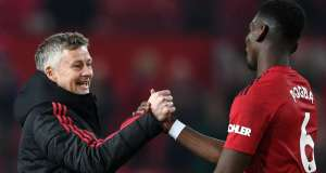paul-pogba and ole gunnar solskjaer