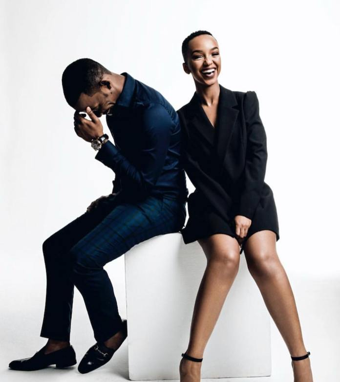 Nandi Madida launches her website