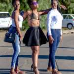 Zodwa and friends
