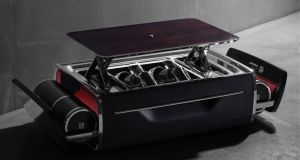 Rolls-Royce champagne cooler